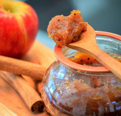 Composta di mele e vaniglia